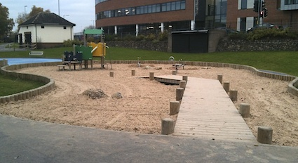 Accessible Sand pit