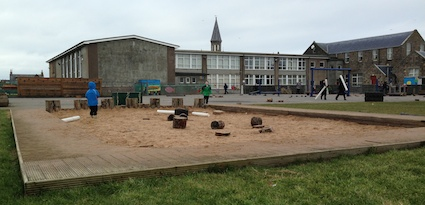 Inverallochy sandpit