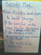 Outdoor Play Rules