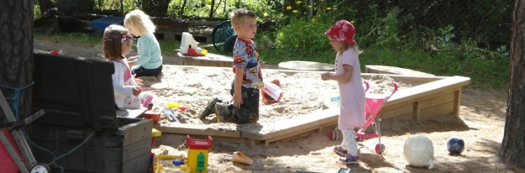Playing Outdoors in the Early Years