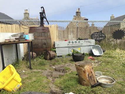 Inverallochy Mud Kitchen