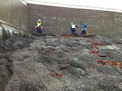 Concrete hill