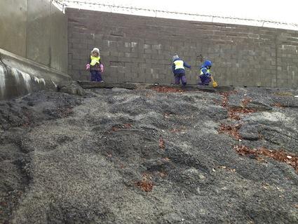 Concrete slope 2.5