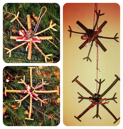 Twig decorations