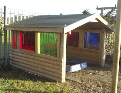 Alfreton perspex shelter