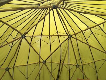 Geo dome inside