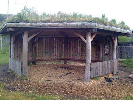 Inveraray peace hut