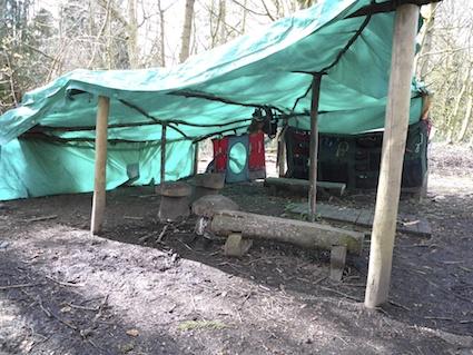 Mindstretcher tarp shelter
