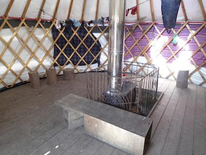 Secret Garden Yurt 2