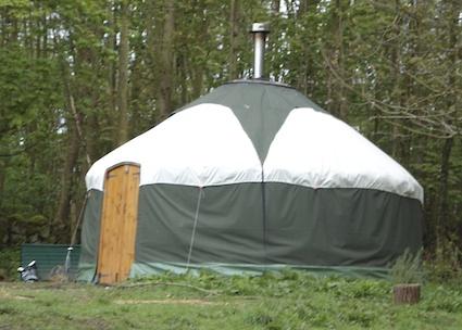 Secret Garden Yurt