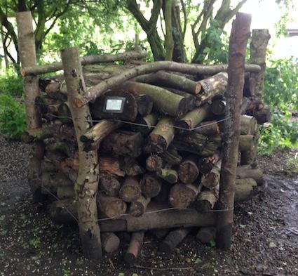 Log piles 3