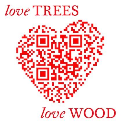 Love trees banner