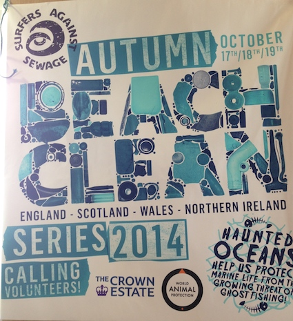 Post image for Surfers Against Sewage: Autumn Beach Clean