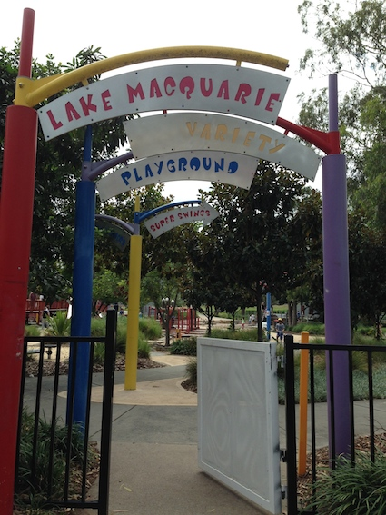 Post image for Macquarie Lake Variety Playground – The Oz Blogfest Begins