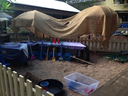 Post image for Sandpits Outside – Challenging Myths and Misconceptions