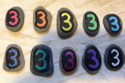 Post image for Multiplication Pebbles