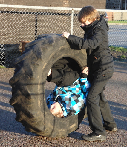 Post image for Tyres in School Grounds