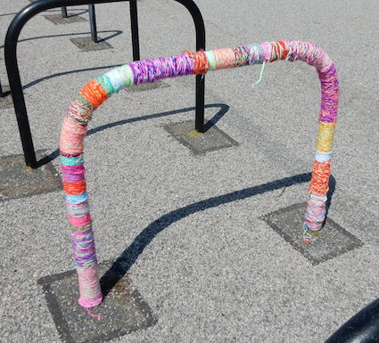 Post image for When did you last yarn bomb your school?
