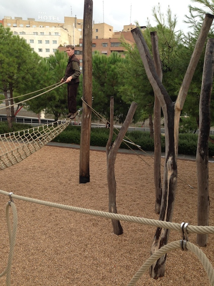 Post image for Bosque de Trepa, Madrid – Not a High Ropes Course!