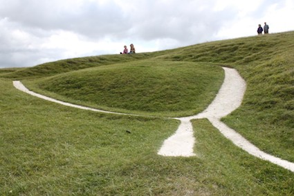 Post image for Uffington White Horse – Inspiration for Chalk Figures