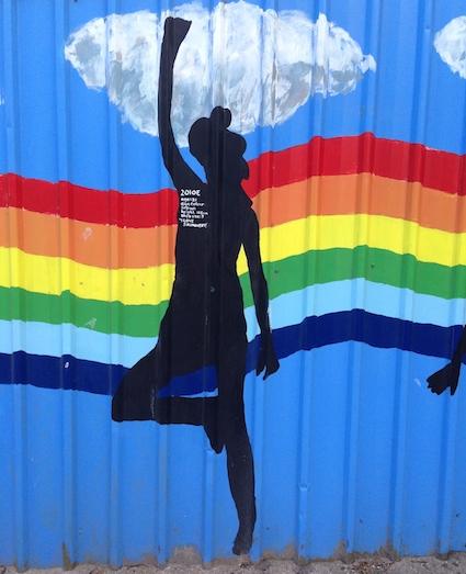 Silhouette mural 2