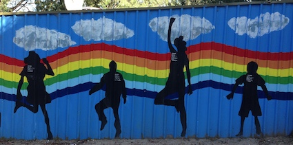 Post image for Human Silhouette Murals