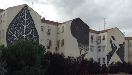 Silhouette mural 4