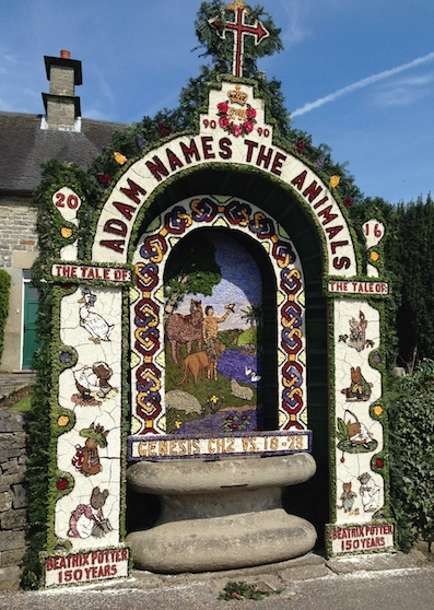 Post image for Well Dressing in Derbyshire – A Nature Art Custom