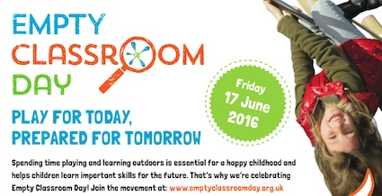 Post image for Empty Classroom Day – Get motivated to get outside