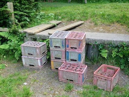 Milk crates 6