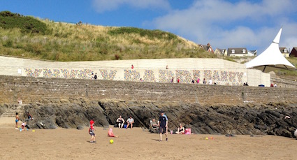 Barry Island Traversing Wall 3