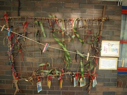 stick-frame-weaving