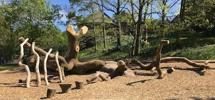 Post image for Rothay Park Play Log – Ambleside